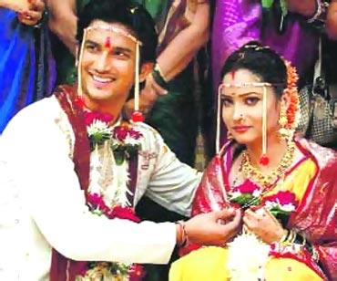 A scene from Pavitra Rishta