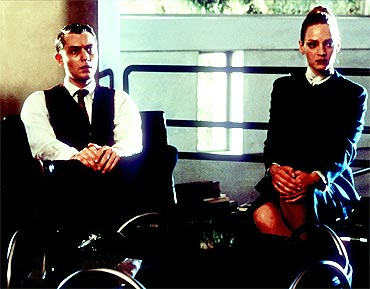 A scene from Gattaca