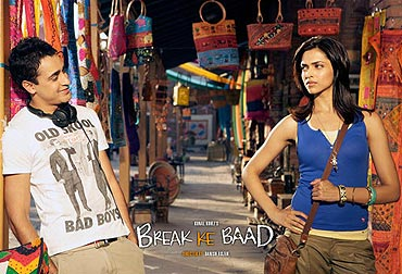 A scene from Break Ke Baad