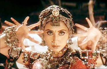 Urmila Matondkar in the Chamma Chamma song