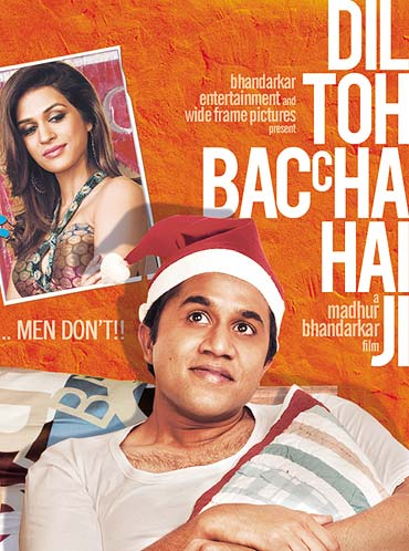 Movie poster of Dil Toh Baccha Hai Ji