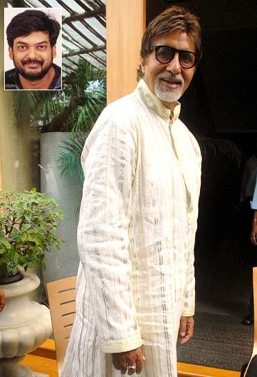 Amitabh Bachchan. Inset: Puri Jagannadh