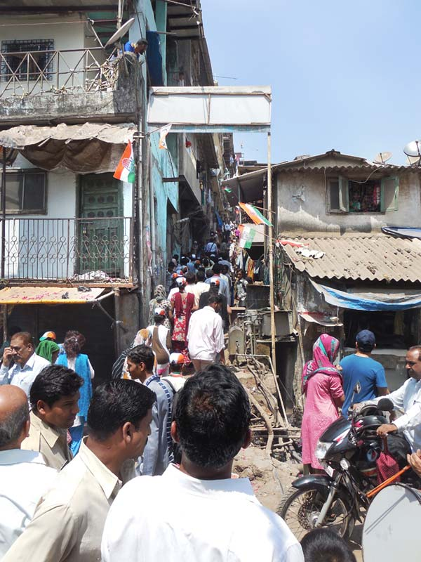 Quresh Nagar, part of the Mumbai North Central constituency.