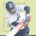 Rusty Sehwag rattled by net bowlers at Delhi training
