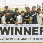 PHOTOS: India vs New Zealand, Bangalore Test (Day 4)