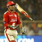 Sehwag, Miller, Maxwell's batting failures hurting Kings XI Punjab