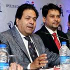 IPL boss Rajiv Shukla defends Thakur over links with bookie