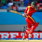 Ervine's maiden ton leads Zimbabwe to rare win