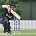 Latham hits maiden ton as rampant New Zealand level series