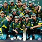 Tri-Series PHOTOS: Maxwell's heroics help Australia lift trophy