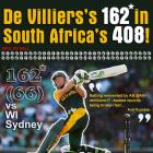 It all comes down to hard work for De Villiers