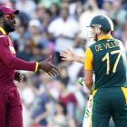 World Cup PHOTOS: De Villiers's sensational batting sinks West Indies