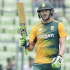 Du Plessis leads South Africa to victory in Bangladesh