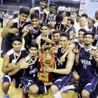 India thrash Sri Lanka to retain South Asian Basketball title