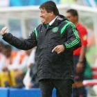 Mexico football coach Herrera accused of punching journalist