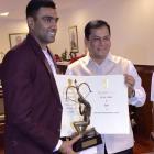 FIRST LOOK: Ashwin presented Arjuna Award