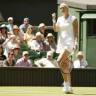 Wimbledon PHOTOS: Kvitova begins title defence in style