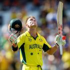 Warner, Maxwell power Australia to World Cup record total
