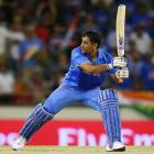 Captain Dhoni digs India out of a spot