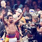 Shoulder injury hampered Pacquiao's bout