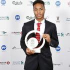 Sterling named Liverpool's Player of the Year, booed by fans