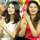 IPL 8 PHOTOS: The many moods of Anushka Sharma and Dipika Pallikal