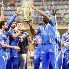 PHOTOS: Heroes welcome for IPL champs Mumbai Indians at Wankhede