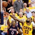 LeBron carries Cavs to OT win over Hawks, 3-0 series lead