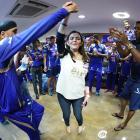 PHOTOS: Harbhajan ditches bhangra to waltz with Nita Ambani