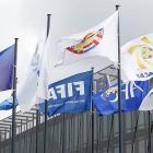 Swiss justice office blocked bank accounts in FIFA probe