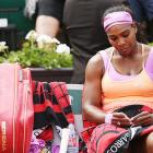 When a seed of doubt crept into 'unprofessional' Serena's mind