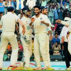 All-rounder Jadeja to India's rescue yet again!