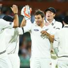 PHOTOS: Bowlers take honours on Day 1 of historic day-night Test
