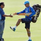 2nd ODI: Captain cool Dhoni faces the heat...