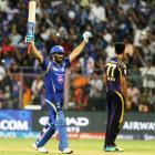 IPL PHOTOS: Rohit helps Mumbai do the 'double' over Kolkata