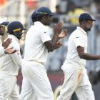 Ashwin takes another five-wicket haul and equals Bhajji's tally