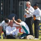 Umpire Reiffel to miss rest of Mumbai Test