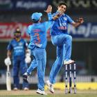 PHOTOS: India thrash Sri Lanka by 69 runs in Ranchi, level series