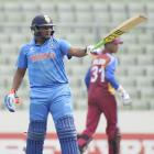 Sarfaraz wages lone battle as Windies pacers too hot for India