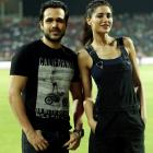 SPOTTED! Emraan Hashmi, Nargis Fakhri at an IPL match