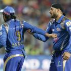 Teammates Harbhajan, Rayudu involved in heated exchange of words