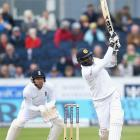 Durham Test PHOTOS: Sri Lanka's Mathews frustrate England