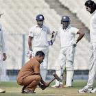 Ranji Roundup: Karnataka in driver's seat; MP amass 445