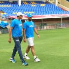 Dhoni, Bumrah spend quality time in the nets
