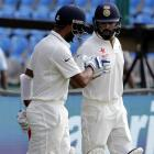 India lose wickets but stretch lead on Day 4