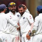 500th Test: India close in on victory at lunch
