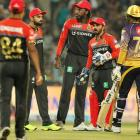 Bangalore bowl out Knight Riders for 131