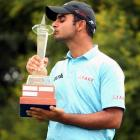 Sharma holds nerve to claim maiden tour win at Joburg Open