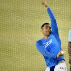 PHOTOS: Dhoni delights fans as Kohli misses nets in Cuttack