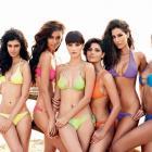 Images: The Kingfisher Calendar 2012 bikini bombshells!